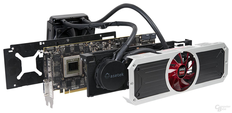 AMD Radeon R9 295X2 – in Schichten