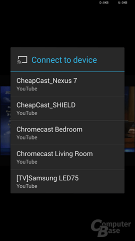 Chromecast in Android