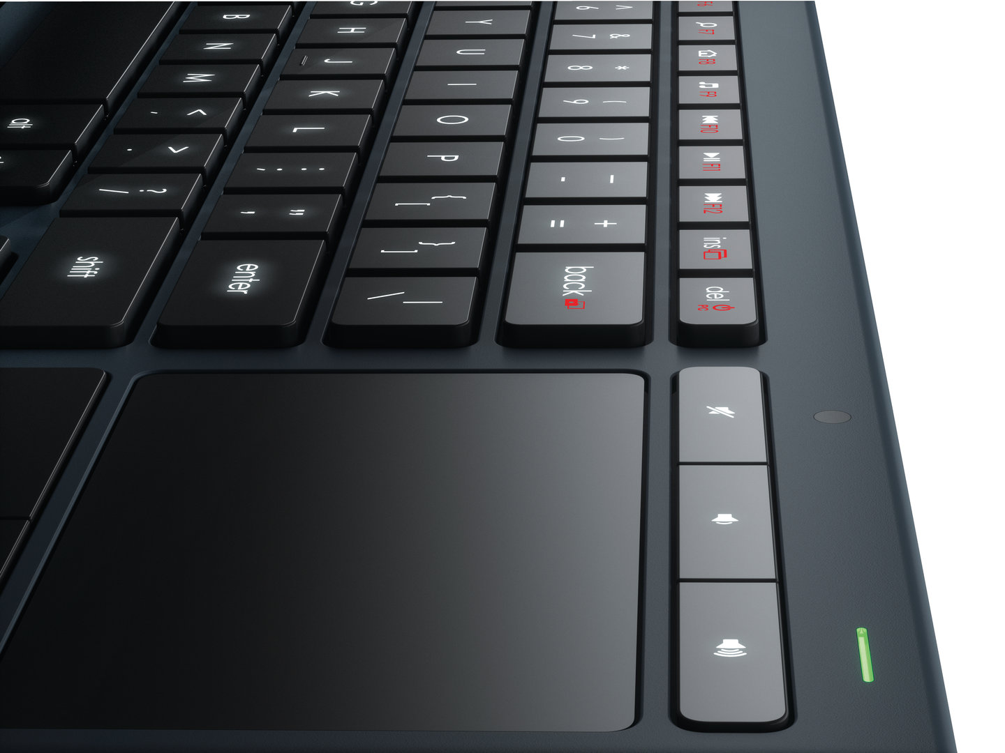 Logitech Illuminated Living-Room Keyboard K830