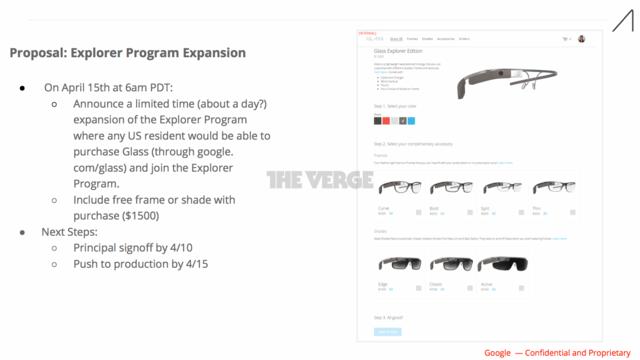 Dokument offenbart Promotionsaktion für Google Glass