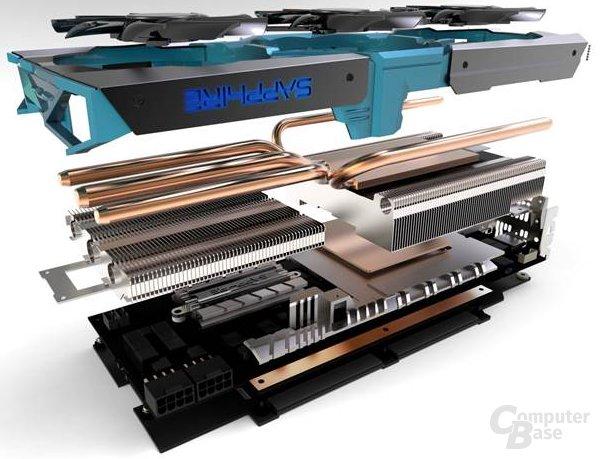 Sapphire Radeon Vapor-X R9 290 Tri-X OC - in Lagen