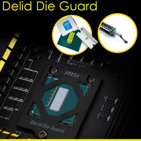 MSI Z97 Xpower AC mit Delid Die Guard