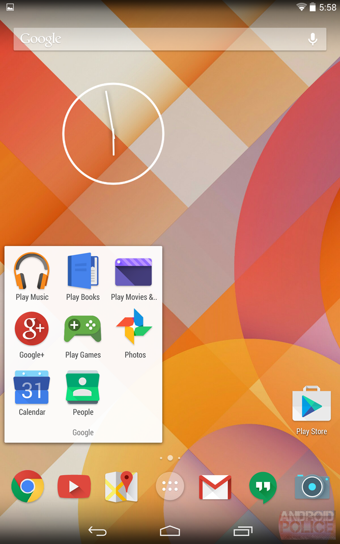 Neue Android-Icons