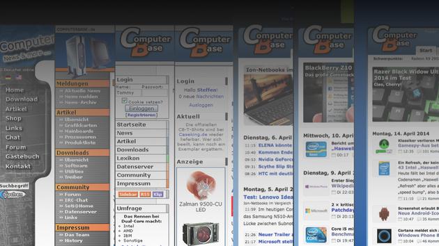 15 Jahre ComputerBase: Und so geht's ohne Layer weiter