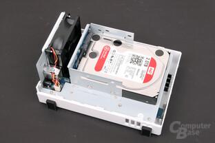 Synology DS214se – mit einer Festplatte