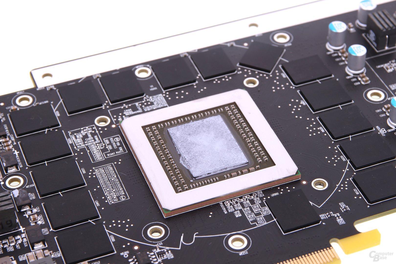 Sapphire Vapor-X R9 290 - GPU und Speicher