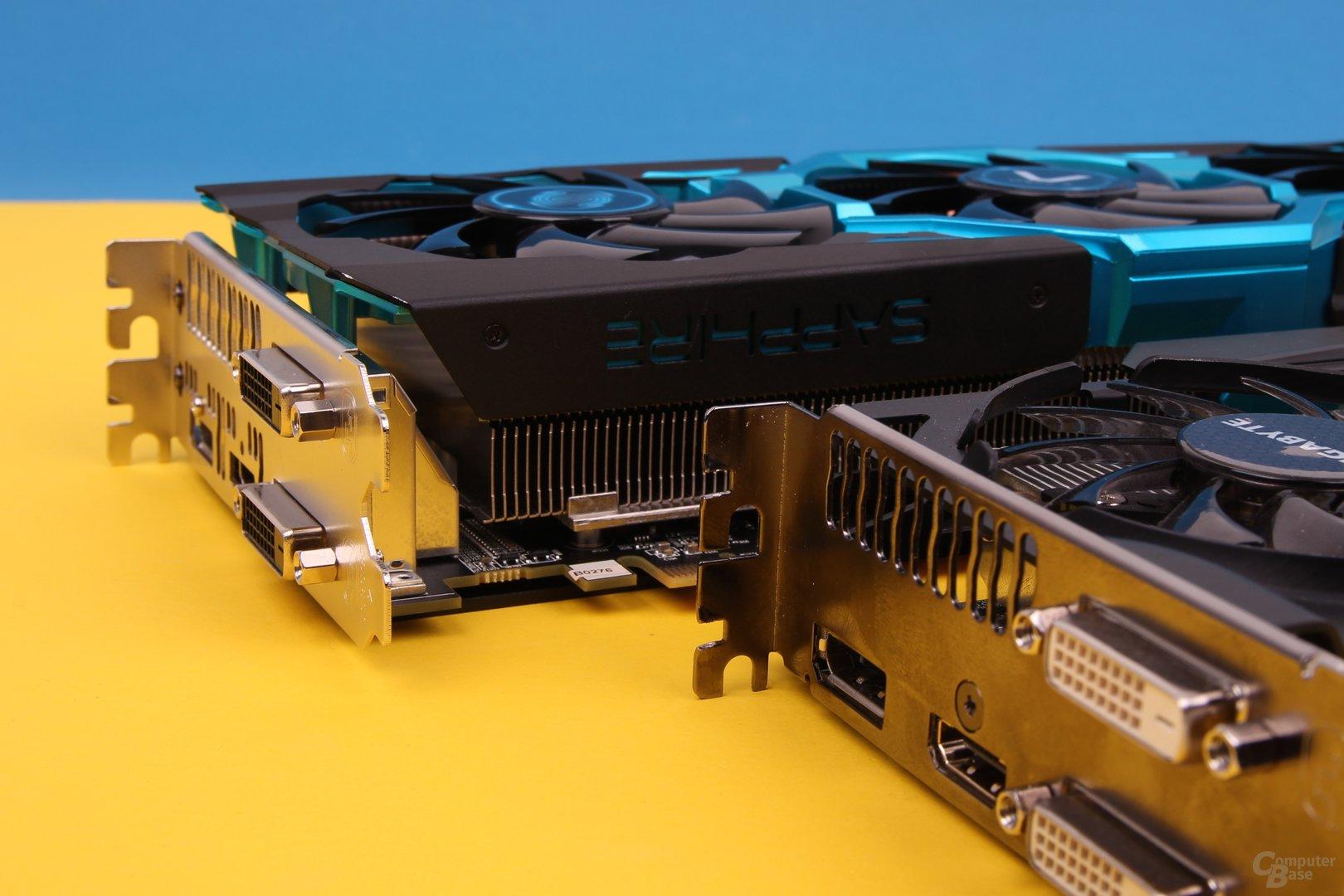 Sapphire Vapor-X R9 290 und Sapphire Vapor-X R9 290 und Gigabyte R9 290X WindForce 3X OC
