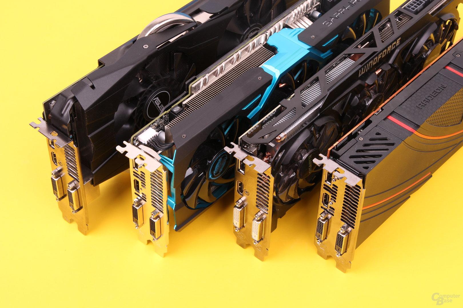 R9 290(X) von: Asus, Sapphire, Gigabyte und AMD