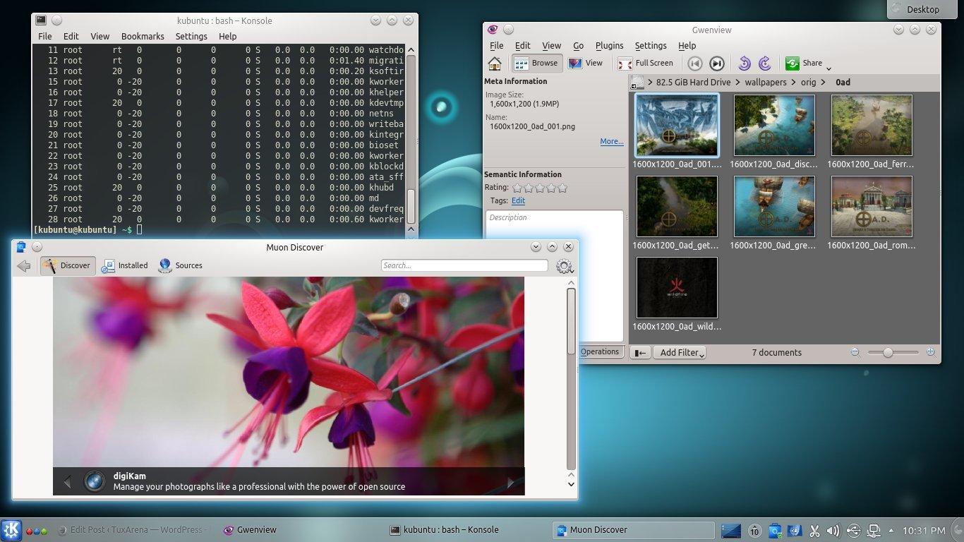 Kubuntu mit KDE 4.13