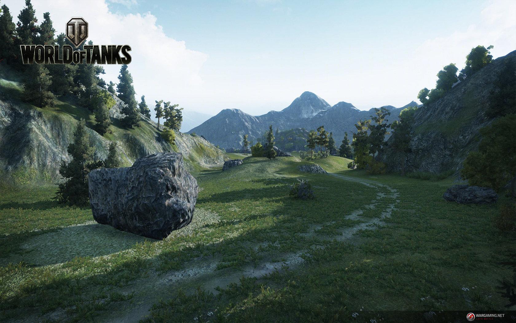 """World of Tanks Update 9.0: Karte """"Bergpass"""""""