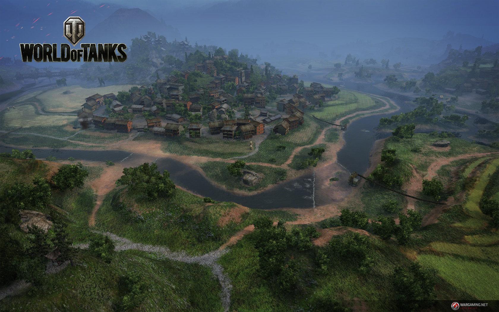 "World of Tanks Update 9.0: Karte ""Perlenfluss"""
