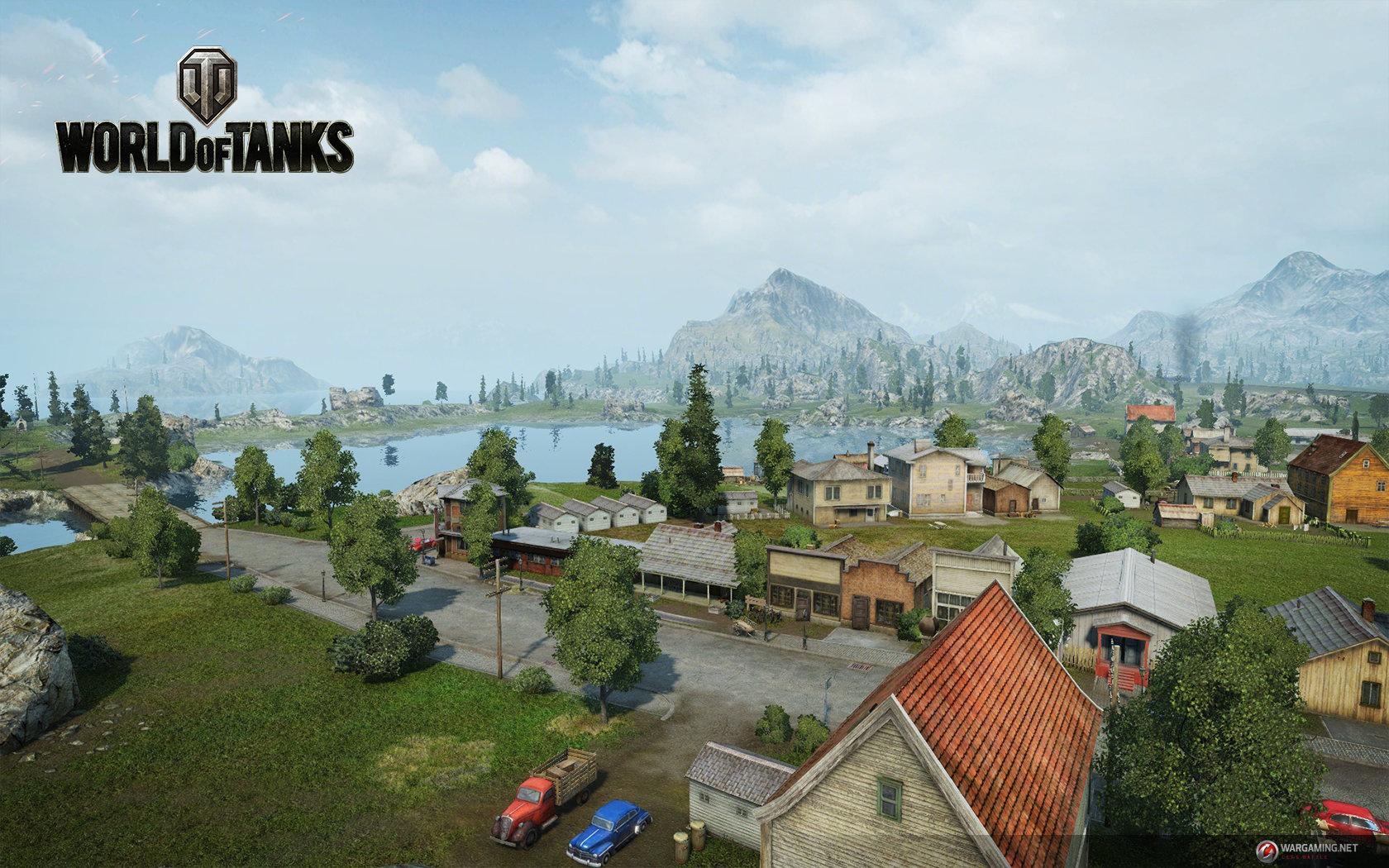 "World of Tanks Update 9.0: Karte ""Küste"""
