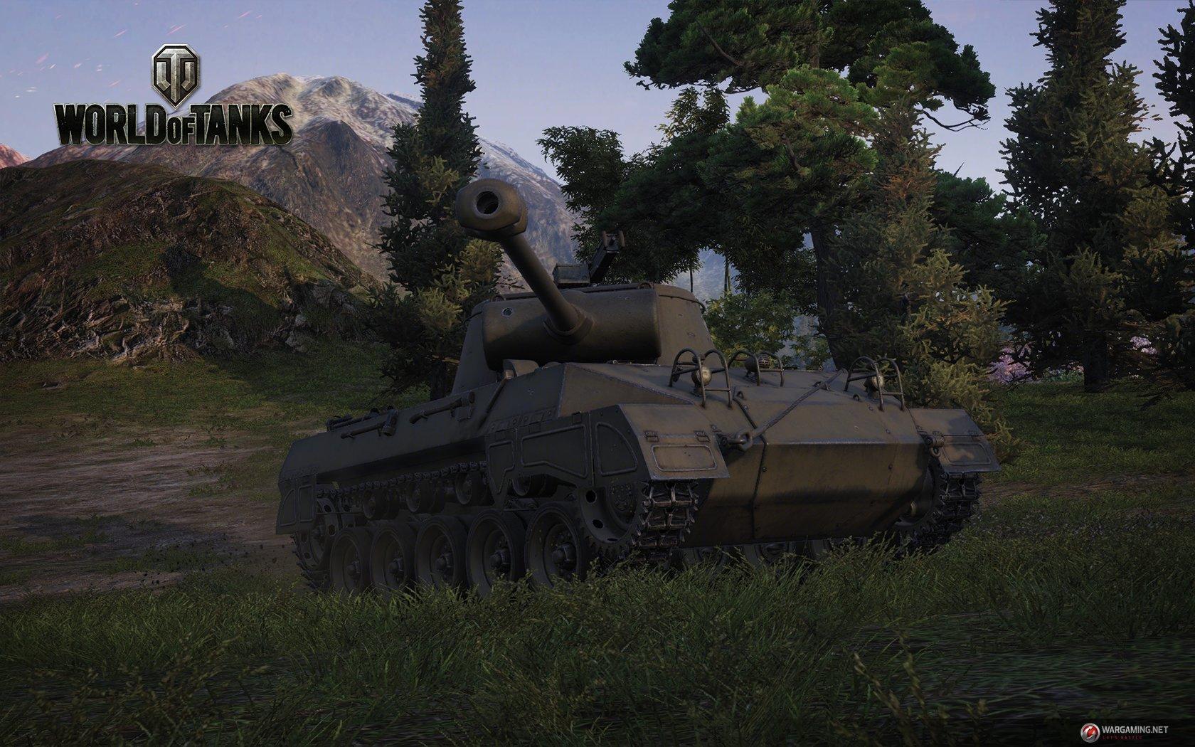 World of Tanks Update 9.0: Hellcat