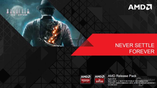 AMD Never Settle Forever – April 2014