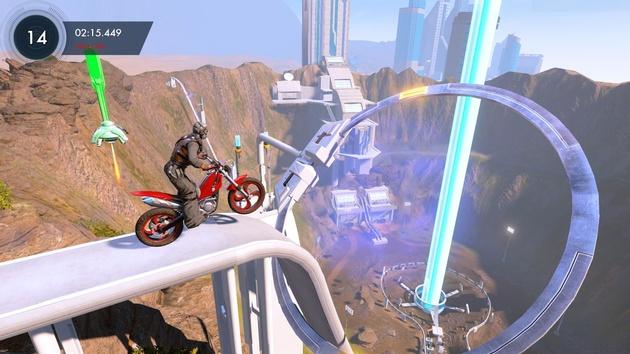 Ubisoft Trials Fusion im Test: Die Zukunft. Häppchenweise.