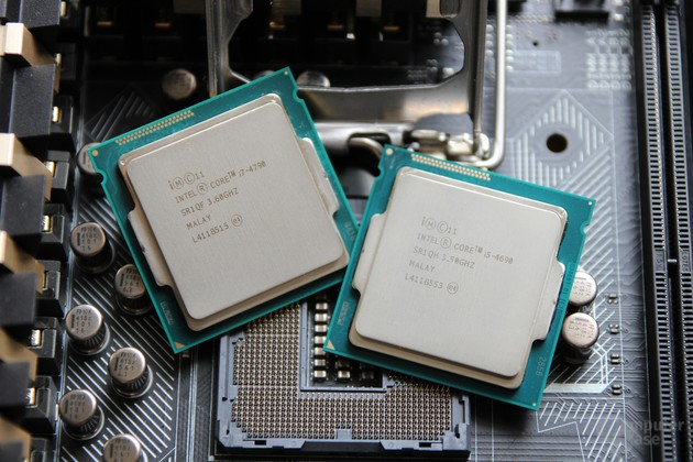 Intel Core i5-4690 und Core i7-4790