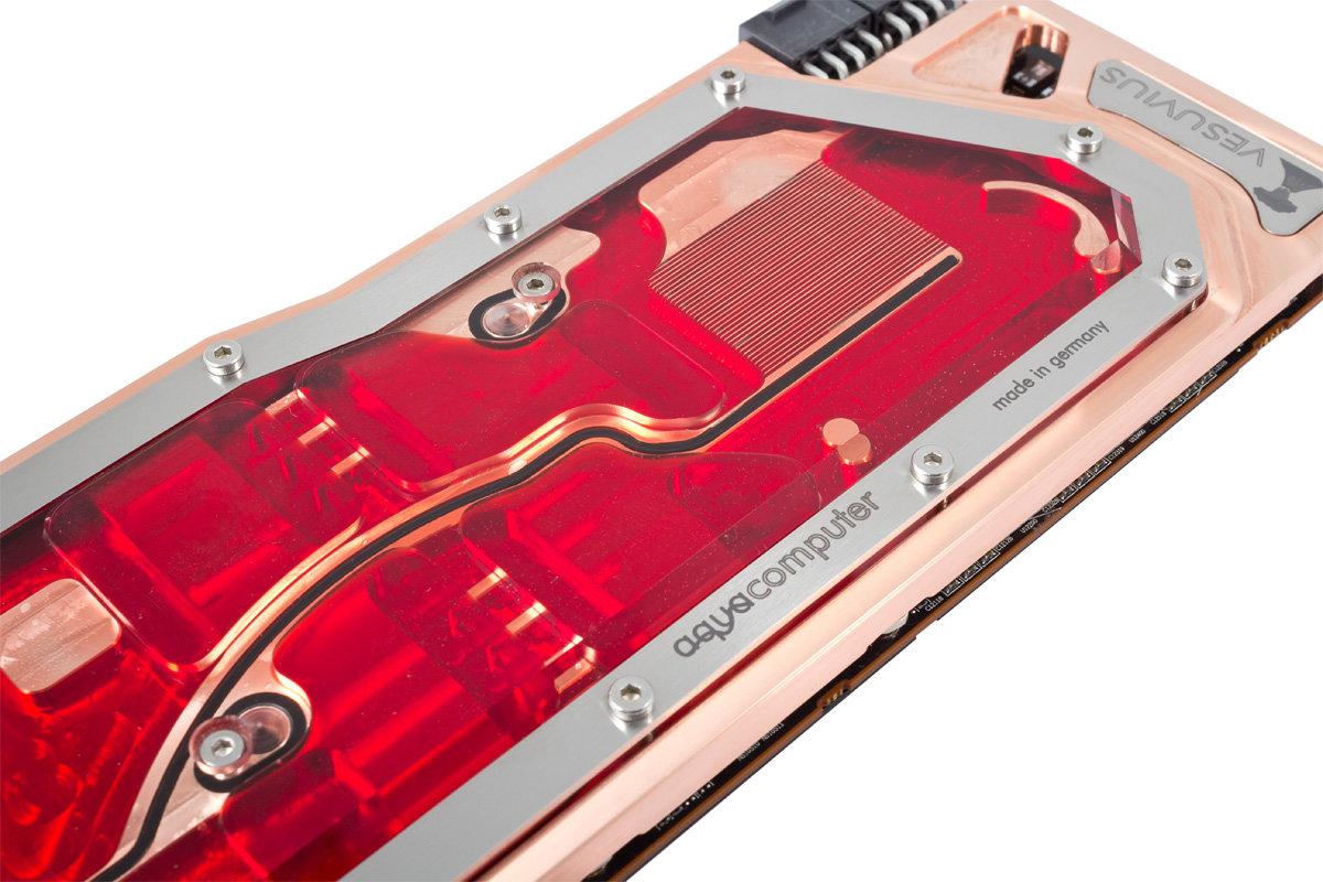 Aquacomputer kryographics Vesuvius R9 295X2
