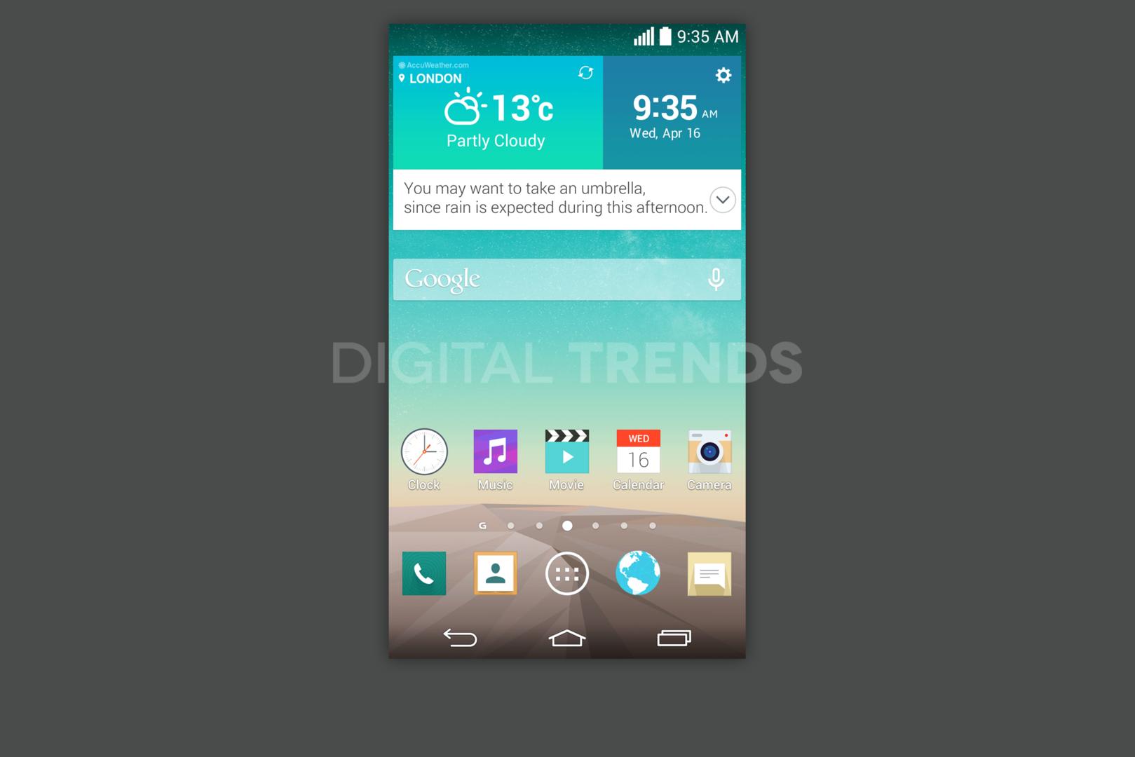 LG G3 Screenshots