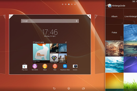 Sony Xperia Z2 Tablet Homescreen Hintergrund