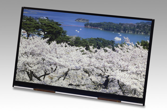 4K2K-Display mit 10,1 Zoll von JDI