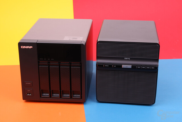 QNAP TS-420 & Synology DS414j