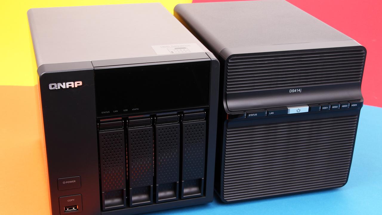 Synology DS414j & QNAP TS-420 im Test: 4-Bay-Einstiegsmodelle im Vergleich