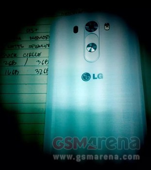 Rückseite des LG G3