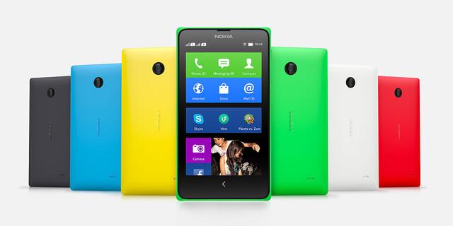 Android auf Nokia-X-Smartphones