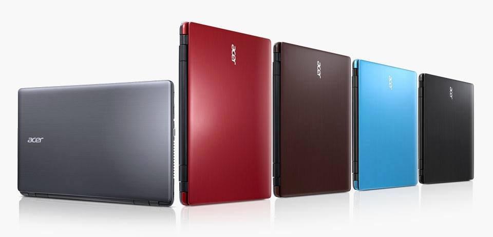 Acer Aspire E14 und E 15 Farbauswahl