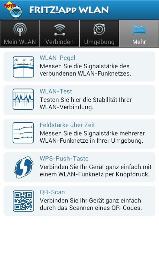 Fritz!App WLAN Lab