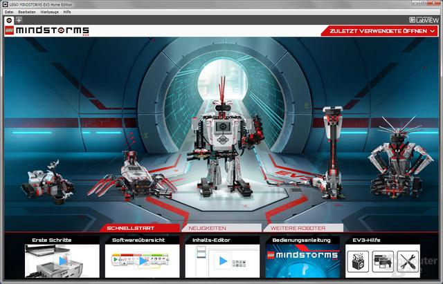 Lego Mindstorms Lobby