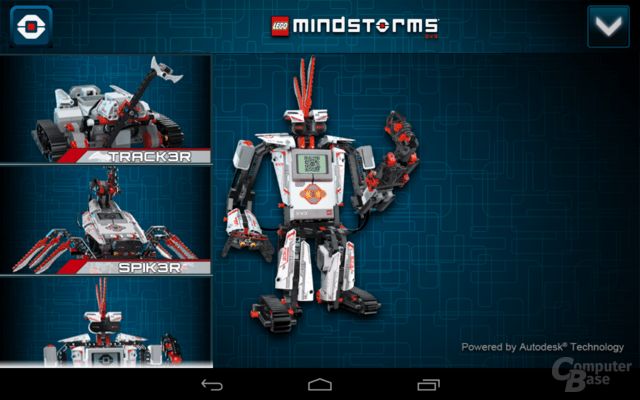 Lego Mindstorms 3D Builder