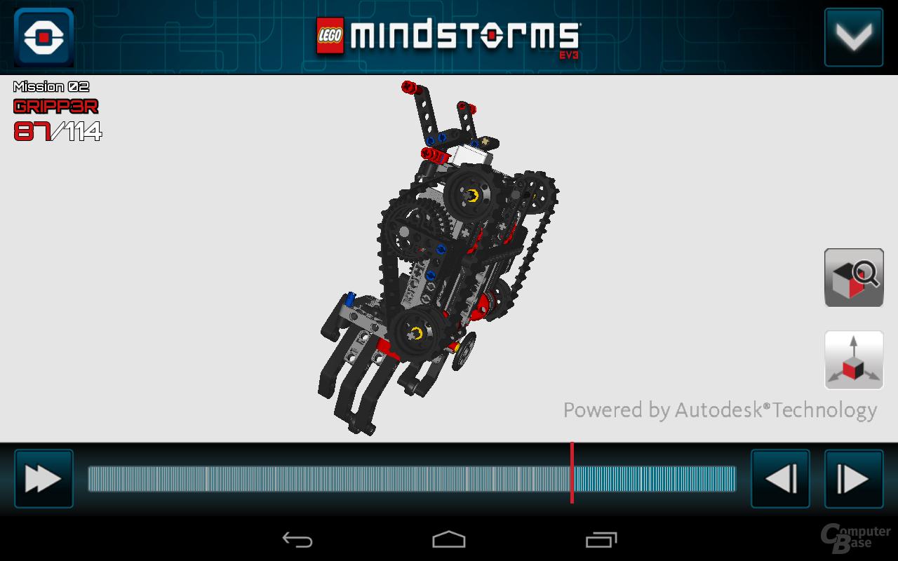 Lego Mindstorms 3D Builder