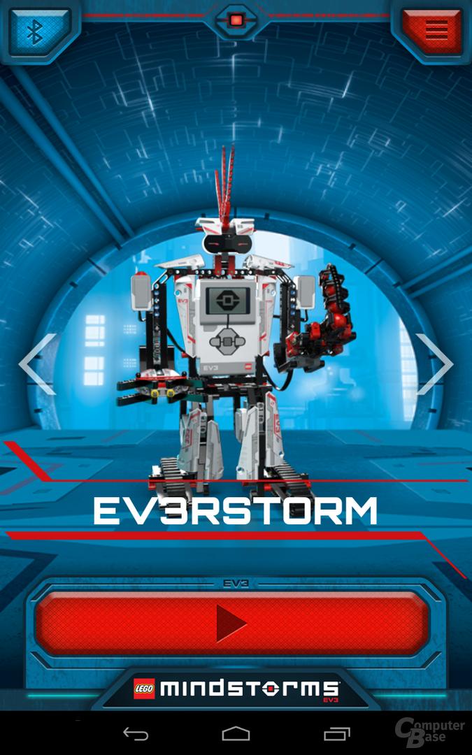 Lego Mindstorms Commander
