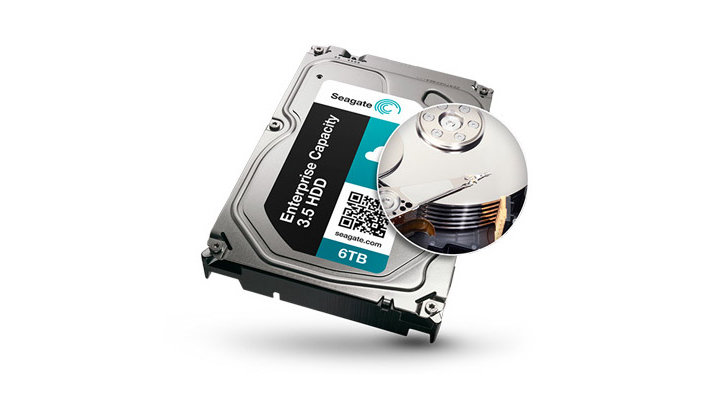 Seagate Enterprise Capacity v4 6 TB