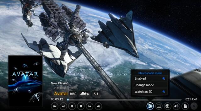 3D für XBMC