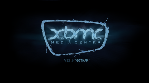 XBMC Gotham Splash Screen