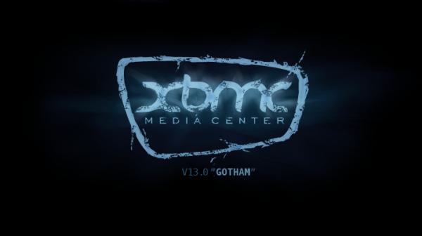 XBMC Gotham Splash Screen