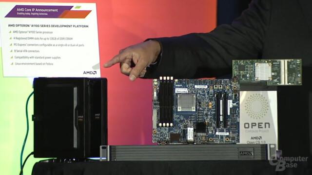 Demosystem mit Seattle-Prozessor