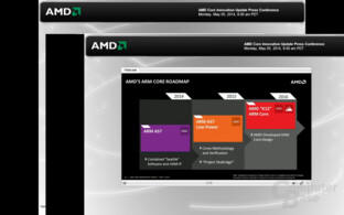 "Roadmap mit eigenem ARM-Core AMD ""K12"""