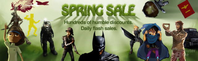 Spring Sale im Humble Store