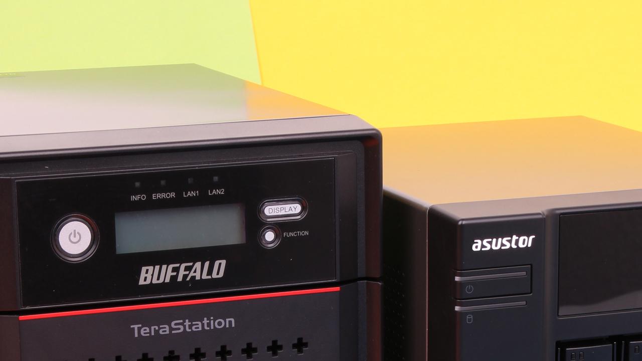 Asustor AS-304T und Buffalo TeraStation 4400 im Test: Business und Multimedia vereint