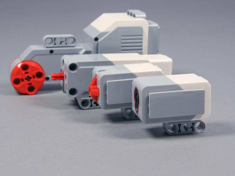 Lego-Mindstorms Komponenten