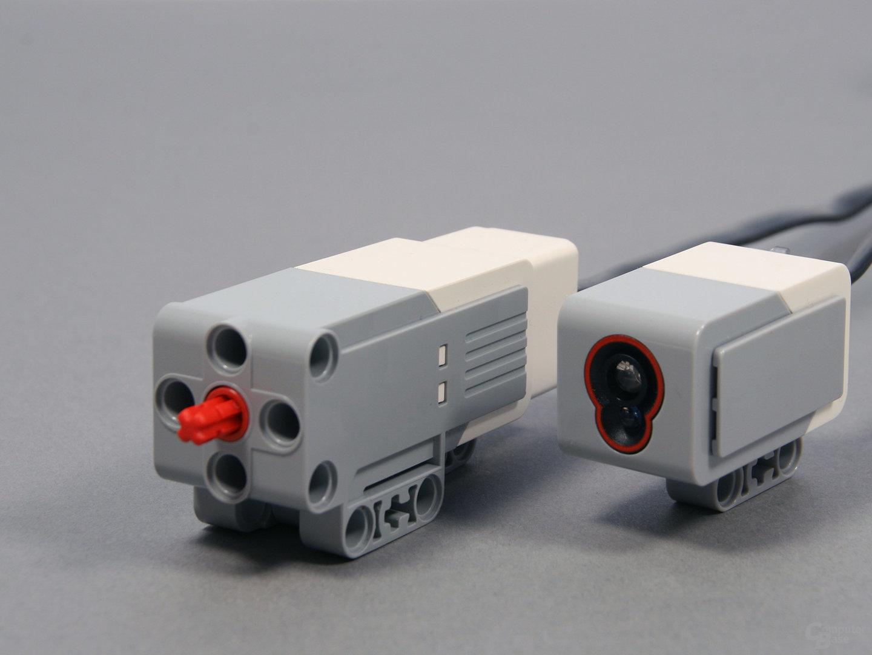 Lego-Mindstorms kleiner Motor & Farbsensor