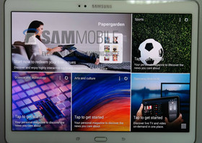 Samsung Galaxy Tab S sieht wie Galaxy S5 aus