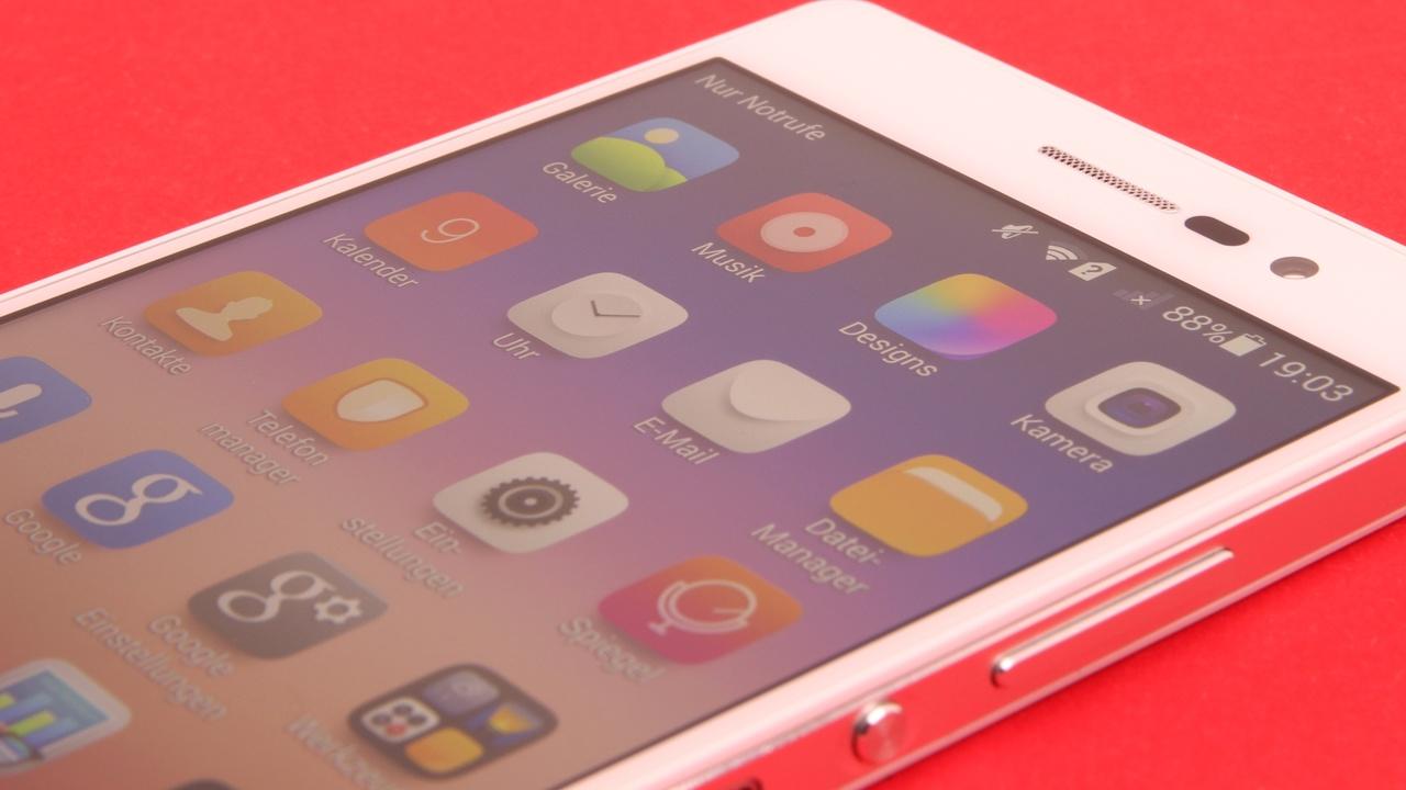 Huawei Ascend P7 im Test: Schlanke Schönheit aus Alu und Glas