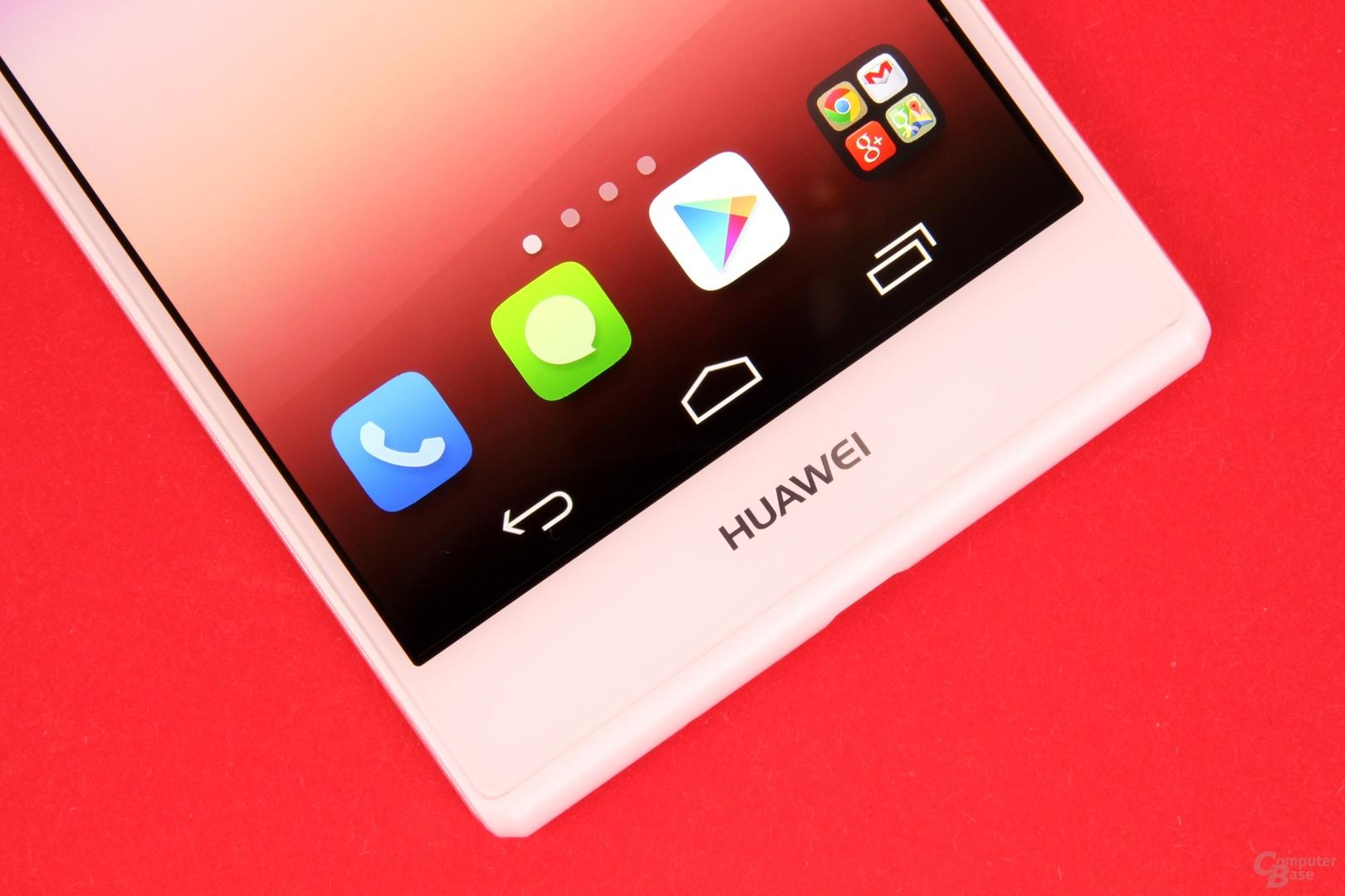 Huawei Ascend P7 mit On-Screen-Tasten