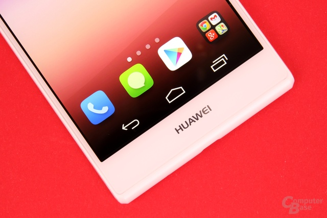 Huawei Ascend P7 mit On-Screen-Tasten