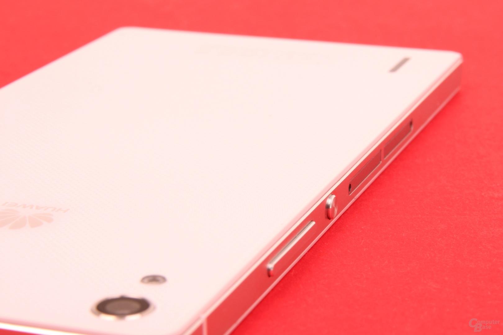 Huawei Ascend P7: Rückseite mit feinem Muster