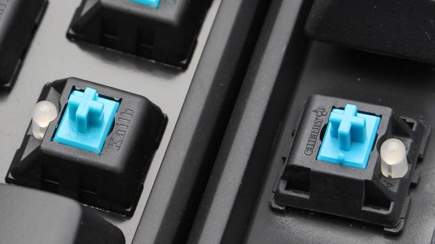 Tt eSports Poseidon Z Illuminated im Test: Schalter von Kailh statt Cherry